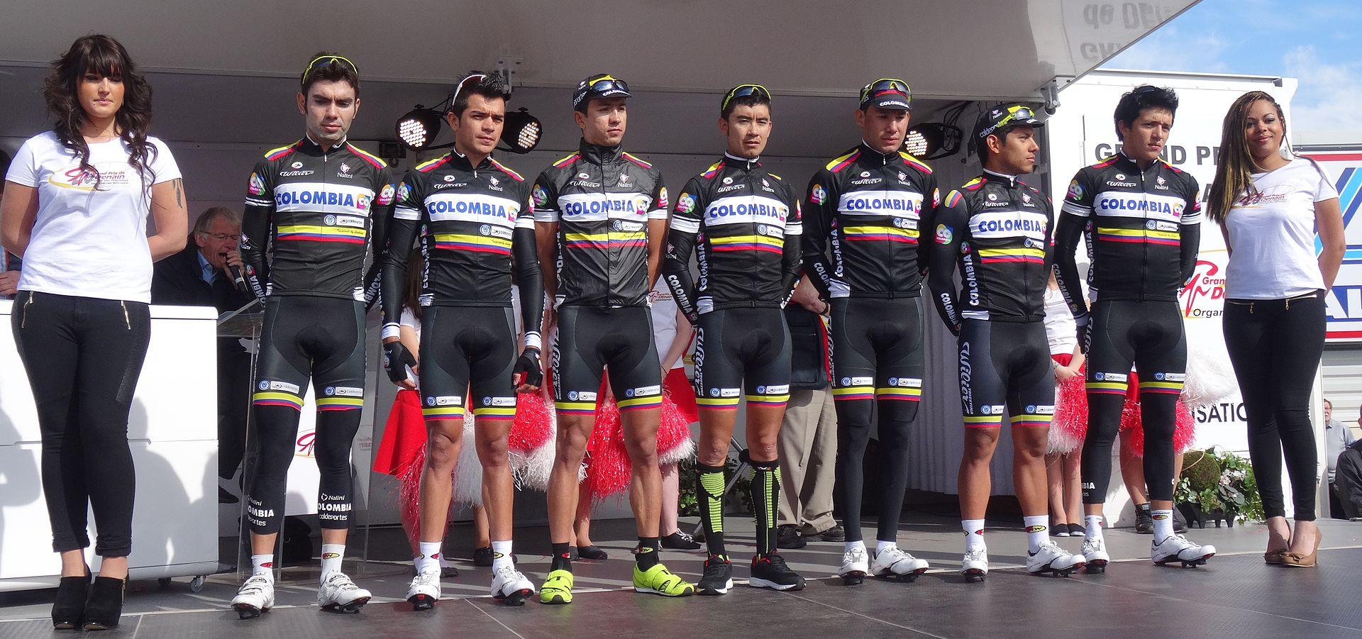 Colombia equipo ciclista wikipedia la enciclopedia libre for Equipos de ciclismo