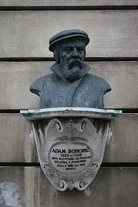 Denkmal für Adam Bohorič in Ljubjana.JPG
