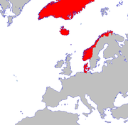 Denmark-Norway until 1814.