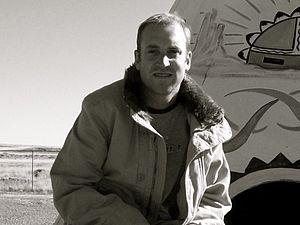 Derek Harvie - Derek Harvie in Petrified Forest, Arizona