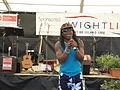 Derek Sandy performing at Yarmouth Old Gaffers Festival 2012 6.JPG