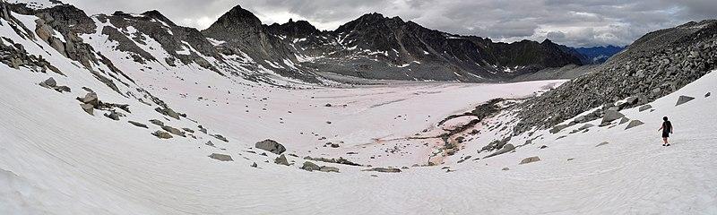 File:Descending onto Snowbird Glacier - panoramio.jpg