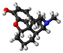 Desomorphine molecule ball.png