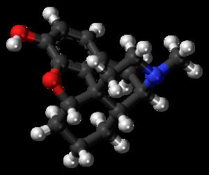 Desomorphine - Image: Desomorphine molecule ball