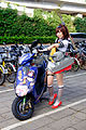 Destroyer Akizuki Fleet Girl Cosplayer with Itansha at CWT41 20151213.jpg