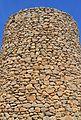 Detall del mur d'un molí de Jesús Pobre.JPG