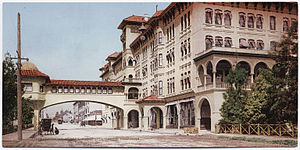 History of Pasadena, California - Hotel Green, 1900.
