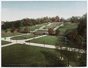 Fort Greene Park - The park c.1904