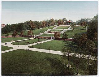 Fort Greene Park park in New York, United States of America, United States of America