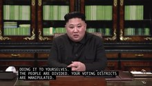 Datei:Diktatoren - Kim Jong-Un von RepresentUs.webm