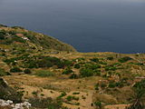 View of the Mediterranean Sea from the cliffs of Dingli, Malta