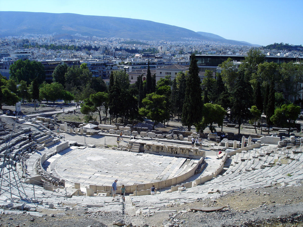 Theatre of Dionysus - Wikipedia