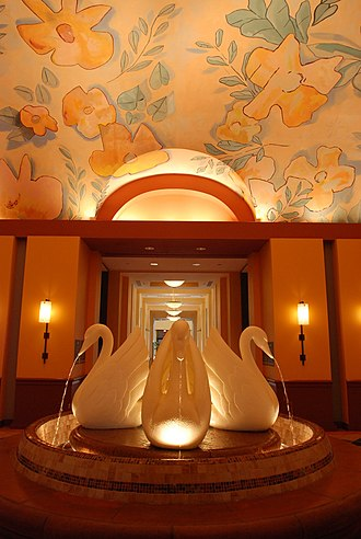 Walt Disney World Swan - Swan Hotel Lobby