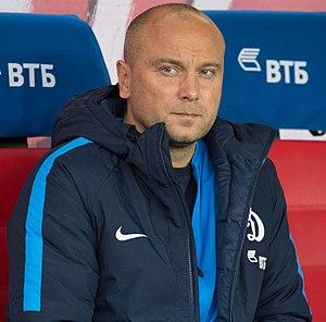 Dmitri Khokhlov - Khokhlov coaching Dynamo Moscow in 2017