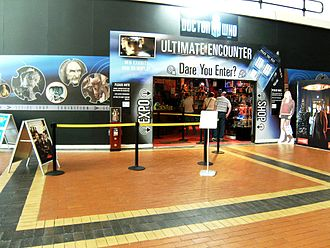 Doctor Who exhibitions - Entrance to the Doctor Who Exhibition