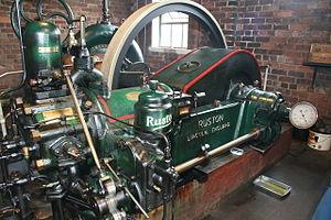Dogdyke Engine - The Ruston engine