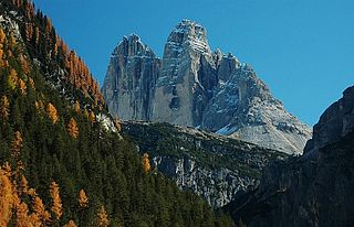 Höhlensteintal valley in the Dolomites
