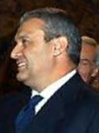 Italian Minister of Economy and Finances - Image: Domenico Siniscalco