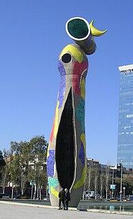 sculpture by Joan Miró in Barcelona