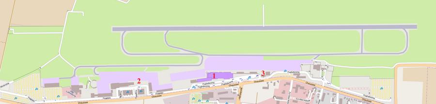 Карта аэропорта.