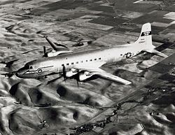 Douglas R6D-1 MATS in flight in the 1950s.jpeg