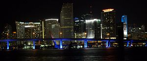 Downtown Miami Night Skyline from Watson Island.jpg