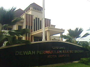 Bekasi - The city's People's Representative Council building