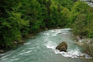 Dranse (Haute-Savoie) French river