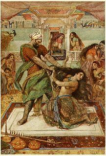 Dushasana One of the Kauravas in the epic Mahabharata