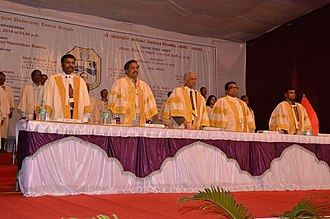 Dr. Babasaheb Ambedkar Technological University - Dr. Man Mohan Sharma at the 17th Convocation of Dr. Babasaheb Ambedkar Technological University, Lonere