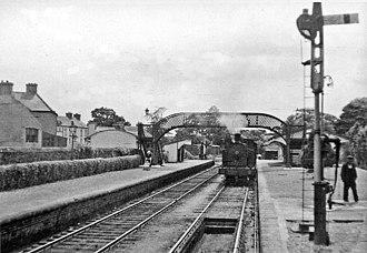 Drimoleague - The station in 1955