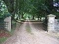 Driveway to Swerford Park Farm - geograph.org.uk - 215452.jpg