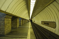 Druzhby Narodiv metro station Kiev 2010 03.jpg