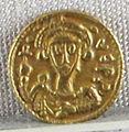 Ducato di benevento, emissione aurea di gisulfo II, zecca di benevento, 742-751, 02.JPG