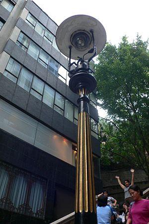 Duddell Street - Image: Duddell Gas Lamp