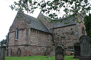 Duddingston Kirk - Duddingston Kirk from the north-east