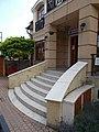 Duna House real estate, stairs in Gyömrő, Pest County, Hungary.jpg