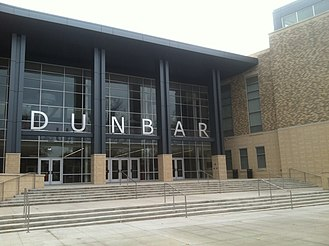 Dunbar High School (Washington, D.C.) - Image: Dunbar High School DC (new building)