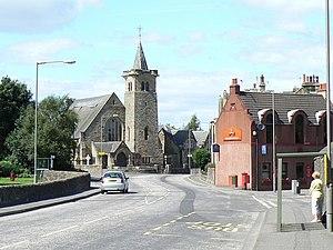 Dunipace - Image: Dunipace Church