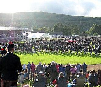 Cowal Highland Gathering - Image: Dunoon Bands