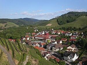 Durbach - Image: Durbach mit Winzergenossenschaft