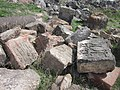 Dzagavank (cross in wall) (97).jpg