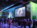 E3 Expo 2012 - Microsoft booth - Halo 4 line.jpg