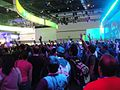 E3 Expo 2012 - Microsoft booth crowd (7641058984).jpg
