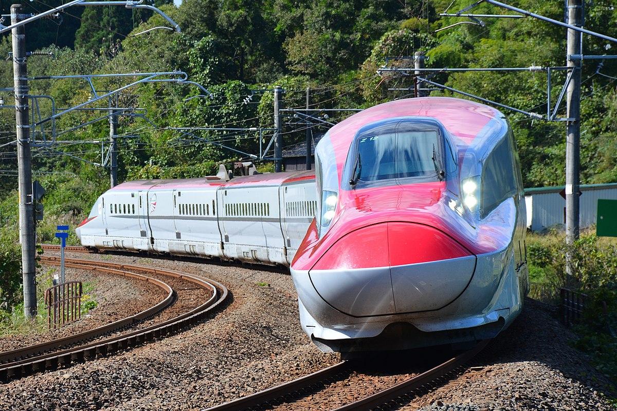 奥羽本線区間を走行するE6系