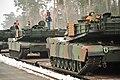 EAS M1A2s arrive in Grafenwoehr (12234284105).jpg