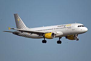 Álex Cruz (businessman) - Vueling Airbus A320