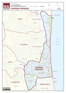 Electoral district of Surfers Paradise
