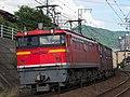 EF67-105 pushing 2072レ container train2017-08-04 (35555939493).jpg