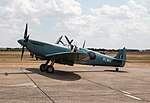 EGSU - Supermarine Spitfire PR Mk IX - G-PRXI PL983 (43953935401).jpg